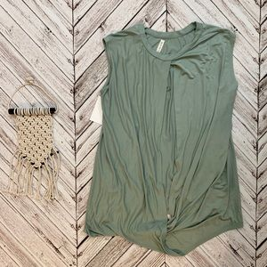 NEW seafoam green sleeveless top